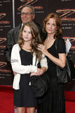 Howard Deutch, Lea Thompson and Zoey Deutch Royalty Free Stock Image
