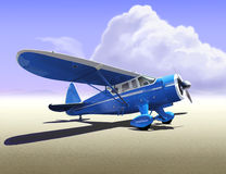 Howard DGA Airplane Royalty Free Stock Image