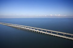 Howard Frankland Bridge. Stock Image