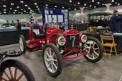 Howard Genrich Model T Speedster. Los Angeles, USA - January 28, 2017: 1922 Howard Genrich Model T Speedster on display during The Classic Auto Show at the Los Royalty Free Stock Photo