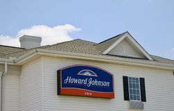 Howard Johnson Inn Image libre de droits