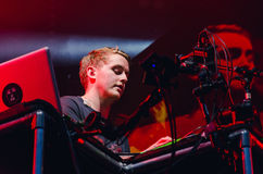 Howard Lawrence of Disclosure (band) Royalty Free Stock Images