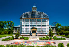 The Howard Peters Rawlings Conservatory, in Druid Hill Park, Baltimore Royalty Free Stock Image