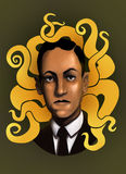 Howard Phillips Lovecraft Immagine Stock