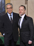 Howard Shore & Billy Boyd Stock Image