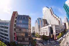 Howard Street view during summer sunny day Stock Photography