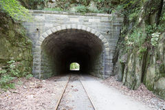 Howard Tunnel on York Rail Trail Stock Image