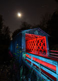 Howards abgedeckte Brücke Stockfotografie