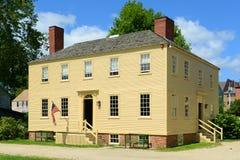 Howd-Haus, Portsmouth, New Hampshire Stockbilder