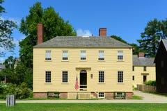 Howd-Haus, Portsmouth, New Hampshire Stockbild