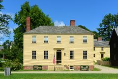 Howd House, Portsmouth, New Hampshire Stock Image