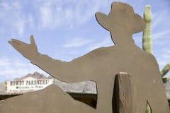 Howdy cowboy Fotografie Stock Libere da Diritti