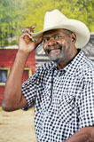 Howdy-Saying Cowboy Stock Photos