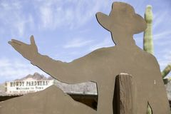 Howdy vaquero fotos de archivo libres de regalías
