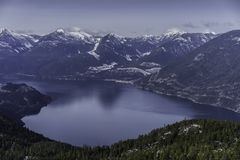 Howe Sound, BC Lizenzfreie Stockfotos