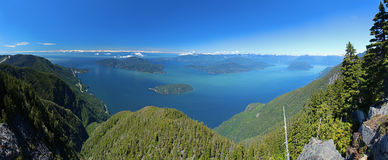 Howe Sound in British Columbia Stock Photography