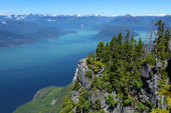 Howe Sound in British Columbia Stock Images