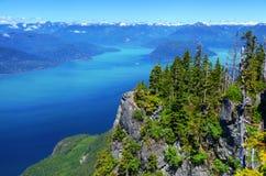 Howe Sound in British Columbia Stock Photo