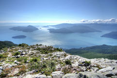 Howe Sound. Royalty Free Stock Images