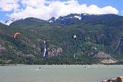 Howe Sound, Squamish Foto de Stock Royalty Free