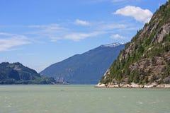 Howe Sound, Squamish. Howe Sound and Coastal Mountains at Squamish Royalty Free Stock Photos