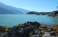 Howe Sound View. Howe Sound-BC. August 2012 Stock Image