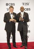 Howell Binkley y Paul Tazewell Grab 2 premios para Hamilton en 70.o Tonys imágenes de archivo libres de regalías