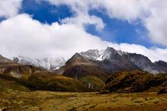 However lake scenery in Tibet Royalty Free Stock Image