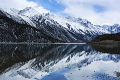 However lake scenery in Tibet Stock Image
