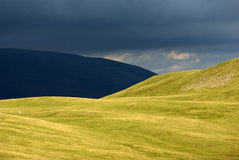 Howgills (Yorkshire Dales, England). A photo of the Howgills (Yorkshire Dales, England Stock Images