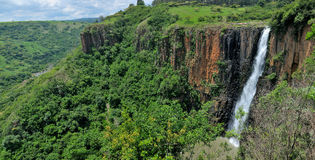 Howick Falls panorama 2 Royalty Free Stock Photography