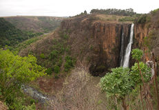 Howick Falls. Spectacular Howick Falls in South Africa Stock Photography