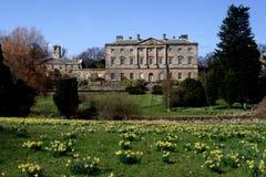Howick Hall Gärten stockfoto