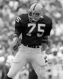 Howie Long, Oakland Raiders del DE Fotografía de archivo