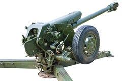 Howitzer κινηματογράφηση σε πρώτο πλάνο Στοκ εικόνες με δικαίωμα ελεύθερης χρήσης