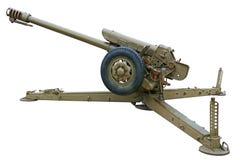 Howitzer πλάγια όψη Στοκ φωτογραφία με δικαίωμα ελεύθερης χρήσης