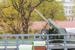 Howitzer D-30 Royalty Free Stock Photo