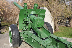 Howitzer-gun parts Stock Images