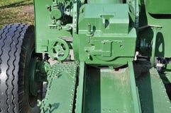 Howitzer-gun parts Royalty Free Stock Image