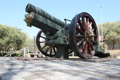 Howitzer Gun from WW2 Royalty Free Stock Photography