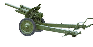 The howitzer. Stock Images