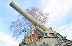 Howitzer in Museum of Artillery. Royalty Free Stock Photos