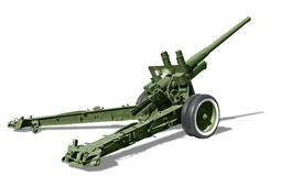 Howitzer Royalty Free Stock Photography