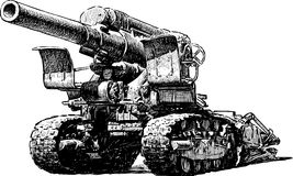 Howitzer Stock Photography