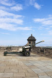 Howitzerartilleritryckspruta Fotografering för Bildbyråer