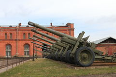 Howitzers royalty free stock image