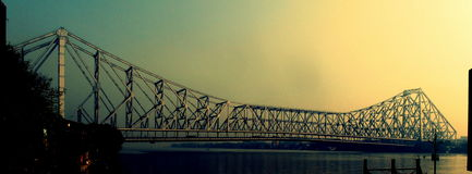 Howrah Bridge royalty free stock photography