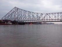 Howrah bridge kolkata stock photo