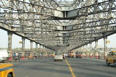 Howrah Bridge in Kolkata Stock Photos