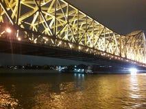 Howrah bridge stock photography